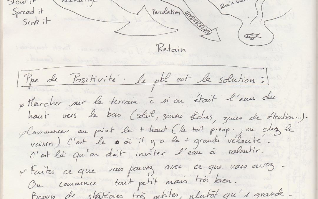 Sensibilisation à la permaculture. Poitiers